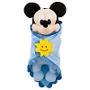 Disney Plush - Disney's Babies - Mickey Mouse - Baby in Blanket