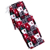 Disney Lounge Pants - Mickey Mouse Holiday Patchwork