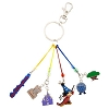Disney Keychain Keyring - Four Parks Charms With Mickey