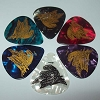 Disney Guitar Pick Plectrum - Aerosmith Rock N Rollercoaster Ride