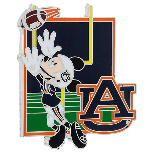 disney game on pin football mickey auburn university