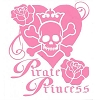 Disney Window Decal - Pirate Princess - Pink
