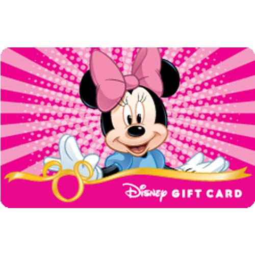Your WDW Store - Disney Collectible Gift Card - Fab. 5 - Minnie Mouse