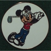 Disney Golf Ball Marker - Mickey Mouse Golfing