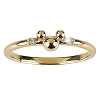Disney Ring - 14-Kt. Gold and Diamond Mickey Mouse