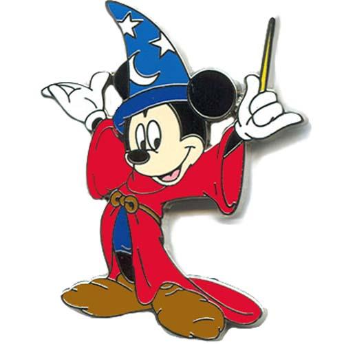 Disney Mickey Pin - Mickey Mouse - Sorcerer Mickey Fantasia  Disney Mickey P...