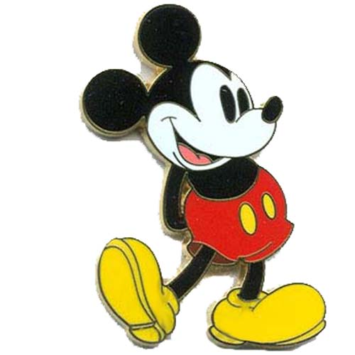 Your Wdw Store Disney Mickey Pin Classic Mickey Mouse Standing