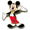 Disney Mickey Pin - Mickey Mouse Movie Star