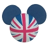 Disney Antenna Topper - Mickey Mouse Ears UK England British Flag Ball