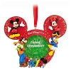 Disney Christmas Frame Ornament - 2012 Mickey and Pals