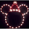 Disney Wall Hanging - Light Up Mickey - Red and White