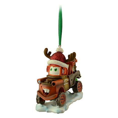 Your WDW Store - Disney Christmas Figurine Ornament - Cars - Tow Mater