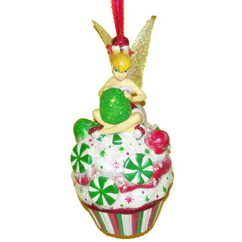 Your WDW Store - Disney Christmas Ornament - Tinker Bell Cupcake