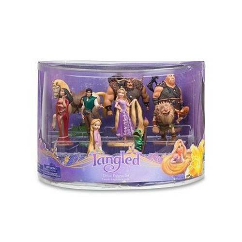 Your Wdw Store Disney Figurine Set Rapunzel Deluxe