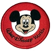 Disney Iron On Patch - Mickey Mouse Walt Disney World