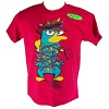 Disney BOYS Shirt - Phineas and Ferb - Holiday Light Bulbs Agent P