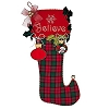 Disney Christmas Holiday Stocking - Believe Jumbo Plush Stocking
