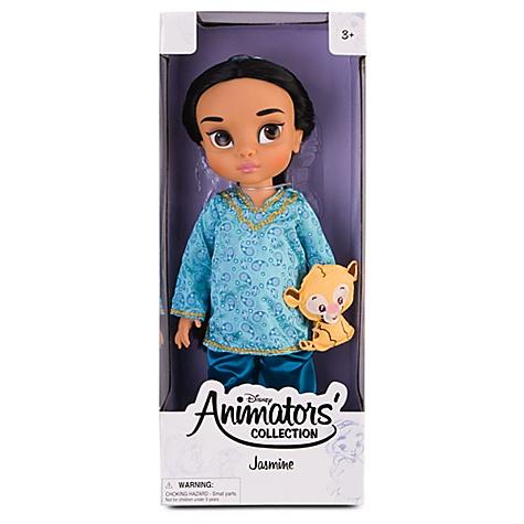 Doll your wdw store disney animators collection jasmine doll
