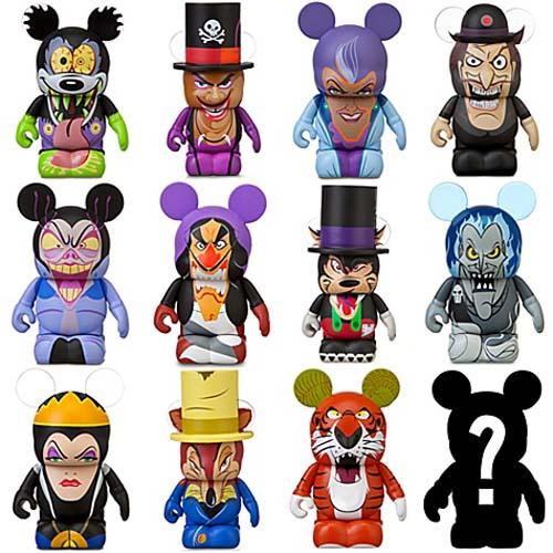 Your Wdw Store Disney Vinylmation Figure Set Villains