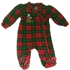 Disney Baby Christmas Sleeper - Red & Green - Santa Minnie