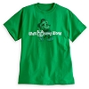Disney ADULT Shirt - Santa Mickey Mouse - Green