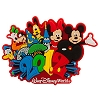 Disney Magnet - 2012 Logo Mickey and Pals