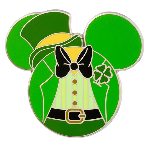 Disney St Patrick S Day Pin Mickey Mouse Icon