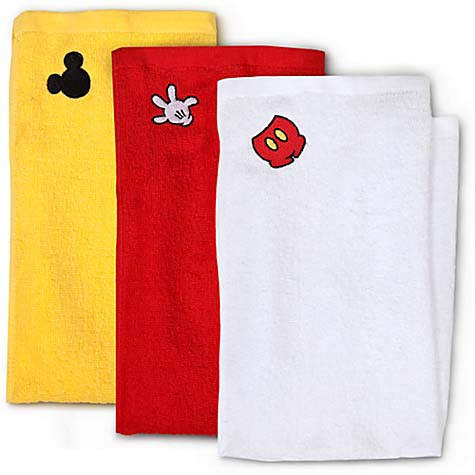 Your WDW Store - Disney Dish Towel Set - Best of Mickey Mouse - 3-Pk.
