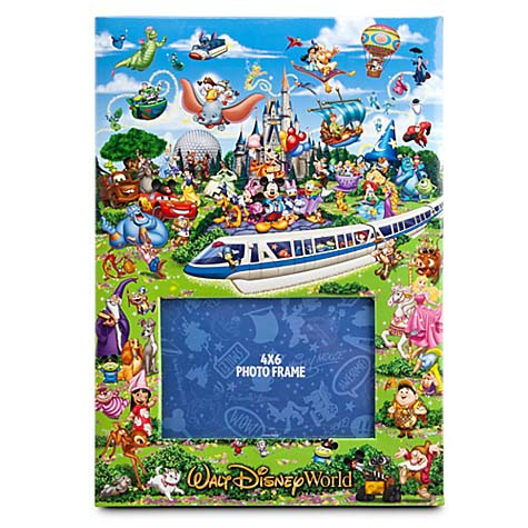 disney photo album 300 pics storybook walt disney world - Disney World Picture Frames