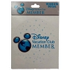 Disney Window Decal - Disney Vacation Club Member - 2012 Logo