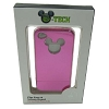Disney iPhone 4 Case - Metallic Mickey Mouse Icon - Pink