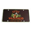 Disney License Plate - Fort Wilderness Resort and Campground