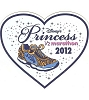 Disney Auto Magnet - Disney Princess 1/2 Marathon - Heart