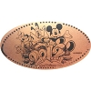 Disney Pressed Penny - 2012 Mickey and Pals Logo