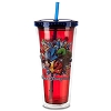 Disney Thermal Tumbler with Straw - 2012 Disney World - Fab 5