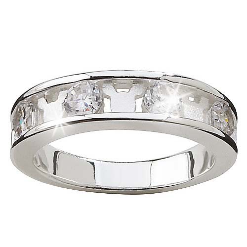 disney ring silver cubic zirconia and mickey mouse - Mickey Mouse Wedding Ring