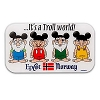 Disney Magnet - Norway Pavilion ''It's a Troll World'' - Epcot