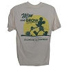 Disney Adult Shirt - Flower and Garden Festival -  Mow and Grow