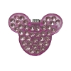 Disney Mini Hair Clip - Mickey Mouse Ears - Bling Pink