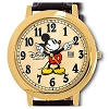 Disney Wrist Watch - Jumbo Classic Mickey Mouse Watch - Brown & Gold