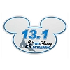 Disney Auto Magnet - In Training RunDisney 13.1 Mickey Mouse