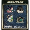 Disney Booster Pin Set - Star Wars - 2012 - Character Quotes