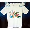 Disney CHILD Shirt - Christmas Mickey and the Gang with Tree
