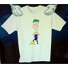 Disney Child Shirt - Phineas & Ferb - Ferb Alone