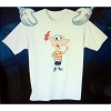 Disney Child Shirt - Phineas & Ferb - Phineas Alone