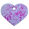 Disney Engraved ID Tag - Pirates of the Caribbean - Princess Heart