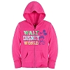 Disney Child Hoodie - Chromatic Hooded Mickey Mouse Jacket - Pink