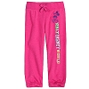 Disney Girls Capri Pants - Mickey Mouse Disney World - Chromatic Pink