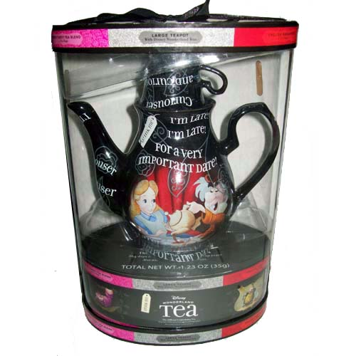disney alice in wonderland mad hatter tea set