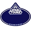 Disney Name Tag ID - Star Wars Weekends 2012 Star Tours Logo - Blue